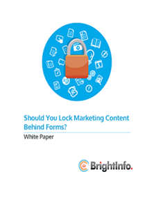 Should You Lock Marketing Content Behind Forms?