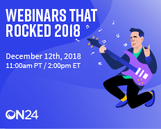 Webinars that Rocked, 2018