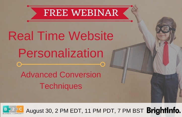 Real Time Website Personalization: Advanced Conversion Techniques - Webinar