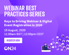 Keys To Drive Webinar & Digital Event Registration in 2020
