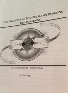 The Influence Of Individuals On Evolving Organizations