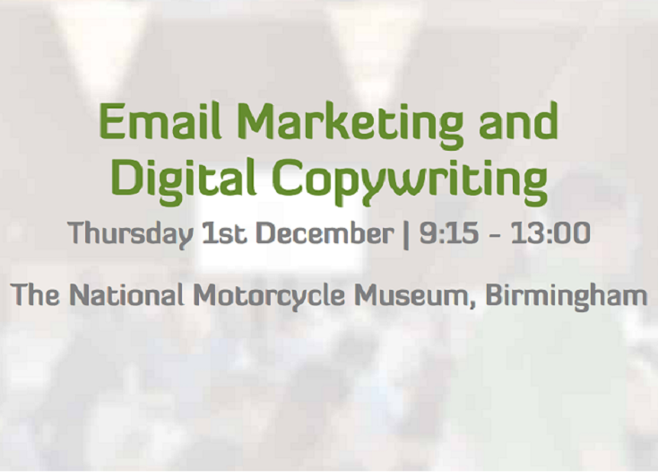 Seminar: Email Marketing and Digital Copywriting - Birmingham