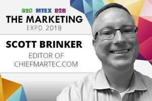 Martech guru Scott Brinker to speak at MTEX Marketing Technology Expo