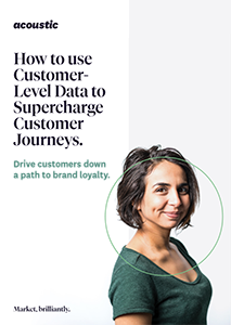 How to use Customer-Level Data to Supercharge Customer Journeys