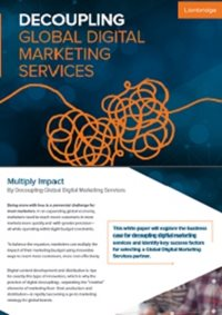 Decoupling Global Digital Marketing Services