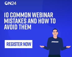 10 Common Webinar Mistakes to Avoid in 2019 APAC