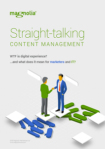 Straight-Talking for Content Management