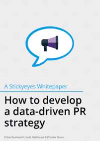 How to develop a data-driven PR strategy