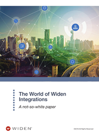 The World of Widen Integrations