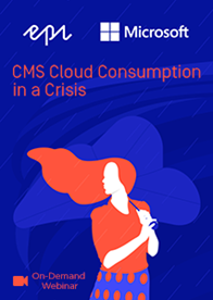 CMS Cloud Consumption in a Crisis