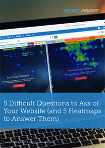 5 Difficult Questions to Ask of Your Website (and 5 Heatmaps to Answer Them)