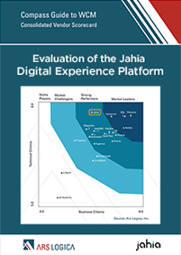 Ars Logica's evaluation of Digital Experience Platforms