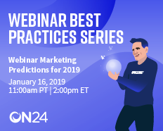 Webinar Marketing Predictions in 2019