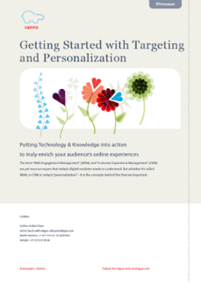 Getting Started with Targeting and Personalization