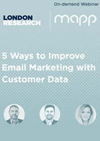 On-Demand Webinar: 5 Ways to Improve Email Marketing with Customer Data