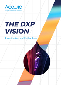 The DXP Vision: Open Content and Unified Data