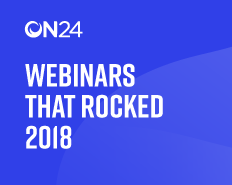 2018, Webinars that Rocked