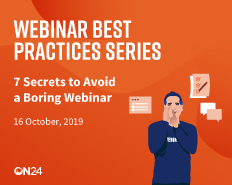 7 Secrets to Avoid a Boring Webinar EMEA