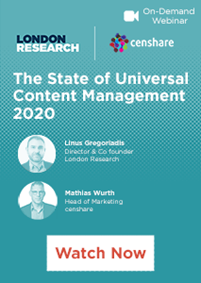The State of Universal Content Management 2020 - Watch Now