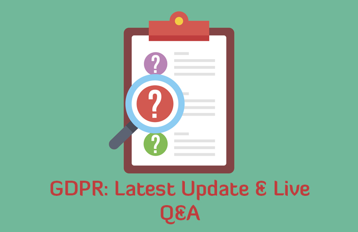 Webinar: GDPR - Latest Update & Live Q&A