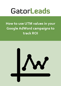 How to use UTM values in your Google AdWord campaigns to track ROI