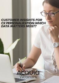 Customer Insights for CX Personalization: Which Data Matters Most?