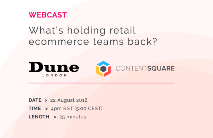 WEBCAST - What's holding retail ecommerce teams back?