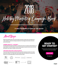 2018 Holiday Marketing Campaign Book