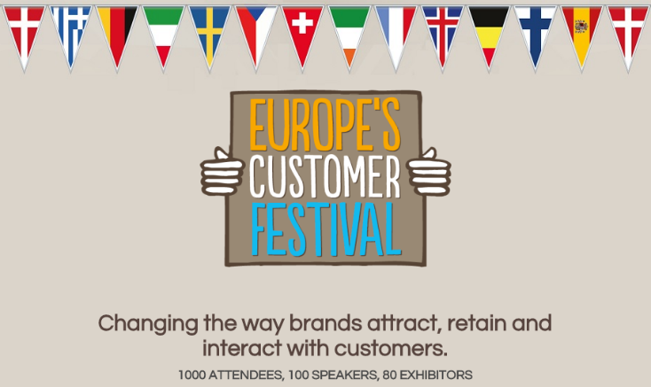Europe's Customer Festival 2016 - London