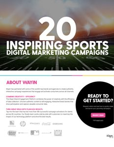 20 Inspiring Sports Digital Marketing Campaigns