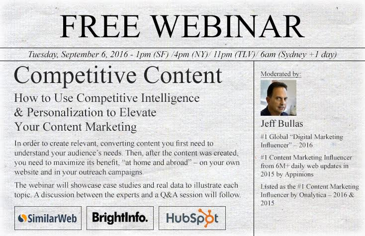 Competitive Content - Webinar