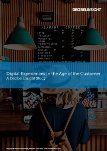 Digital Experiences in the Age of the Customer