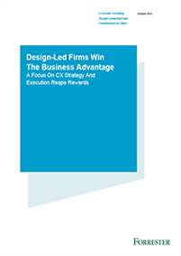 Design-Led Firms Win The Business Advantage