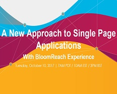 Webinar: A New Approach to Single Page Applications