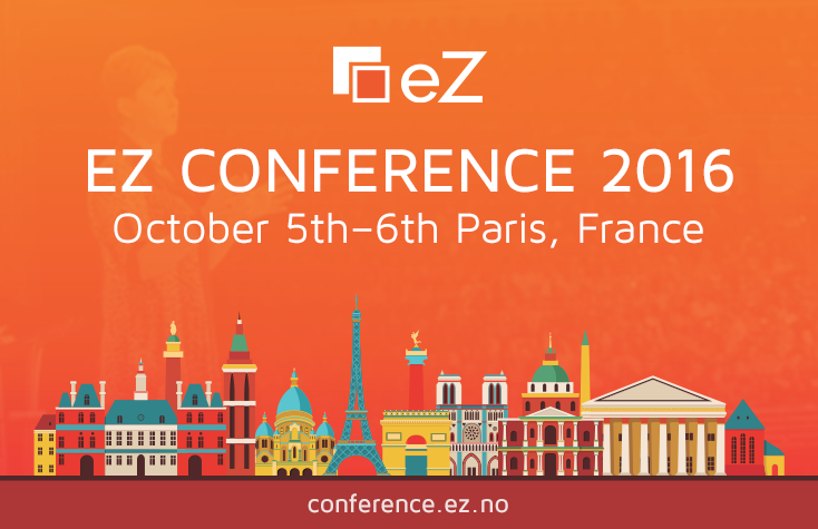 eZ Conference 2016: Beyond The Web - Paris