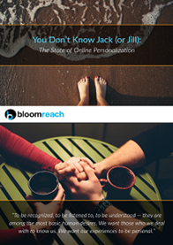 You Don't Know Jack (or Jill): The State of Online Personalization