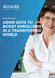 The Future of Higher Education Enrollment is Data-Driven