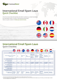 International Email Spam Laws