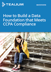 How to Build a Data Foundation that Meets CCPA Compliance