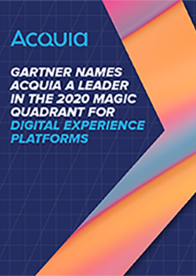 Gartner Magic Quadrant: Digital Experience Platforms, 2020