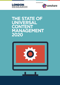 The State of Universal Content Management 2020