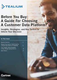 Before You Buy: A Guide For Choosing A Customer Data Platform