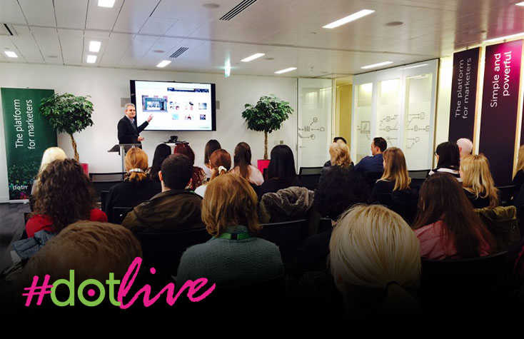 dotlive Roadshow: How to achieve faster, smarter email marketing - Birmingham