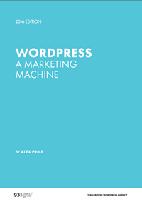 WordPress A Marketing Machine