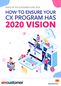 How to Ensure your CX Program has 2020 Vision