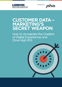 Customer data - Marketing's Secret Weapon
