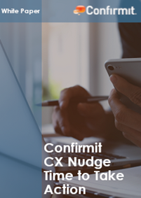 Confirmit CX Nudge Time to Take Action