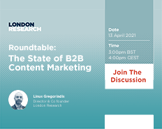 Roundtable: The State of B2B Content Marketing