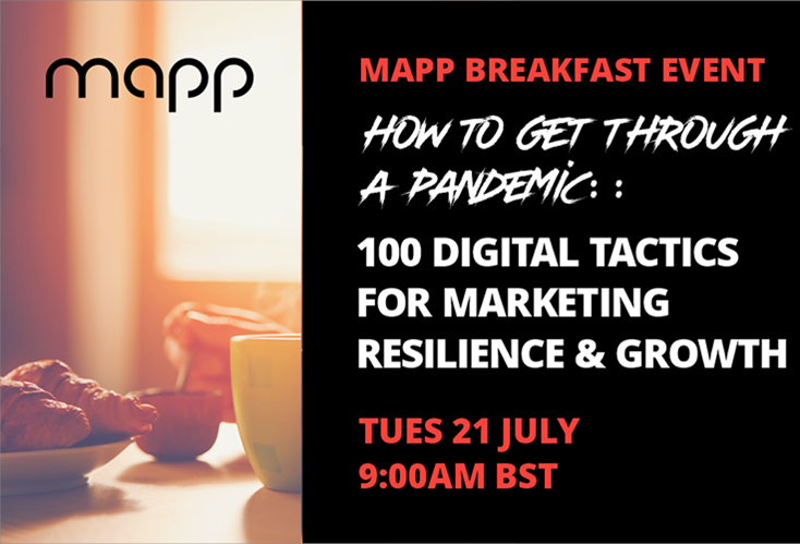 How To Get Through a Pandemic: 100 Digital Tactics for Marketing Resilience & Growth (UK)