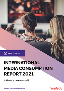 International Media Consumption Report 2021: Is there a new normal?